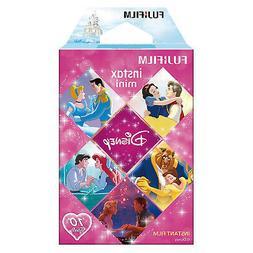 1 Pack 10 Photos Disney Princess FujiFilm Fuji Instax Mini F