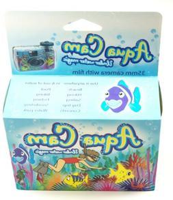 1 Aqua Cam Underwater Magic Disposable 35mm Film Camera 400