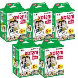 100 Prints Fujifilm instax Mini Film w Cloth, 25 50s 7s 8 9