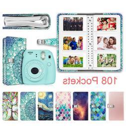 108 Pockets Photo Album for Fujifilm Instax Mini 9 / 8+/ 90