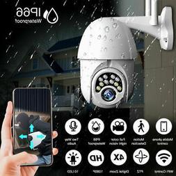 HD 1080P 10 LED WIFI IP CCTV Security Camera Wireless Outdoo
