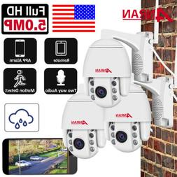 1080P 5MP 2Way Audio Talk Speak Pan/Tilt Wireless Security C