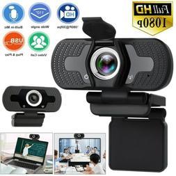 1080P Full HD USB Webcam For PC Desktop Laptop Web Camera Wi