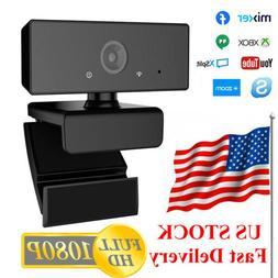 1080P HD Computer Laptop PC Web Cam Camera USB Plug and Play