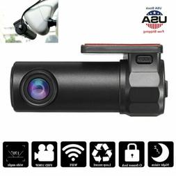 1080P HD Hidden Car Camera DVR Dash Cam Recorder with WiFi G