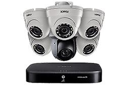 1080p HD Security System with 4K DVR, One 25× Optical Zoom