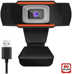 1080P HD Webcam With Microphone Auto Focusing Web Camera For