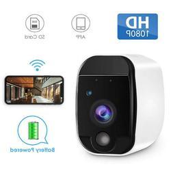 1080P HD Wireless WIFI Battery Powered Security IP Camera Ni