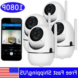 1080P HD Wireless WIFI Home Security Audio Camera Baby Monit
