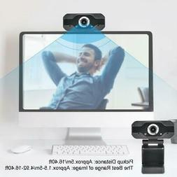 1080P Laptop PC Computer Video Camera Microphone Online Clas