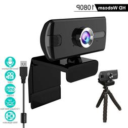 1080P Webcam USB Web Camera with Microphone,computer Laptop