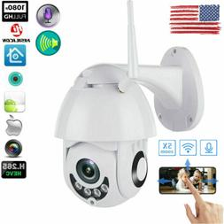 1080P WIFI IP Camera WHITE Wireless Outdoor CCTV HD Home Sec