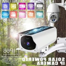 1080P Wireless Solar IP Camera Wifi Security Surveillance Ni
