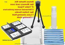11pc CLEANING KIT: CARD CASE TRIPOD to FUJI S3200 S4200 S680
