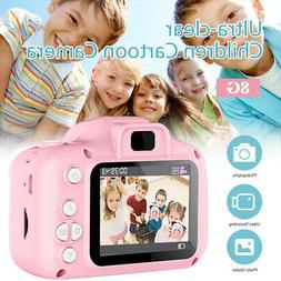 1200W Children Camera Mini Digital Cartoon Cute USB Recharge
