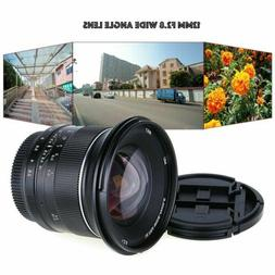 12mm f/2.8 Wide Angle Manual MFT Lens for Panasonic Olympus