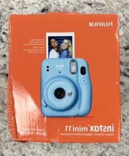 Fuji 16654762 Mini 11 Camera Sky Blue
