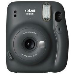 Fuji 16654786 Mini 11 Camera Charcoal Gray