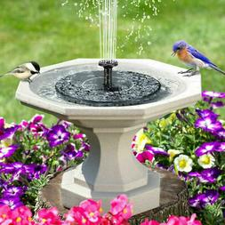 Solar Power Bird Bath Fountain Pump Upgrade 1.4W Solar Fount