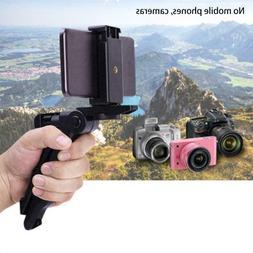 1x Plastic Black Foldable Mini Camera Tripod Stand Tabletop