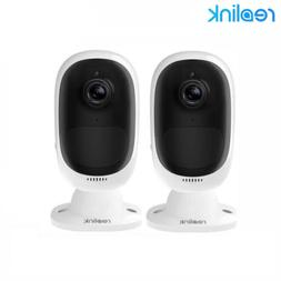 2-Set 1080P Security Camera Rechargeable Battery Powered Out