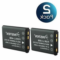 2 Pack Battery For Olympus Li-42B/Nikon EN-EL10/Fuji NP-45/K