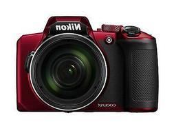 Nikon 2019 Model COOLPIX B600 RD Red Digital Camera New in B