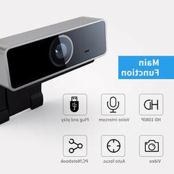 2020 NEW 1080P HD USB Webcam Camera With Microphone Laptop C