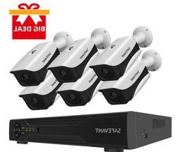 Security Camera System,SAFEVANT 8 Channel Full HD DVR Secur