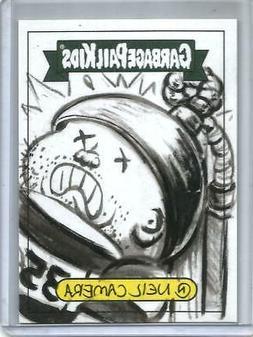 2020 Topps Garbage Pail Kids Sketch Trading Card #1/1 by Art