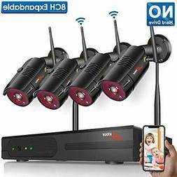 【2020 Update】Wireless Security Camera System, ANRAN 8CH