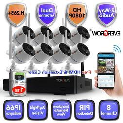 2020 Wireless Audio 1080P Outdoor indoor IP WIFI Camera CCTV