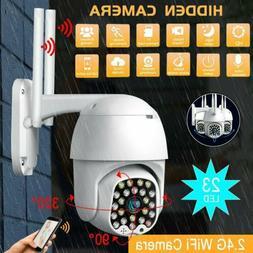 23 LED 1080P WiFi IP CCTV Camera Waterproof Outdoor PTZ Secu