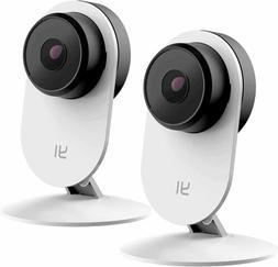 YI 2pc Home Camera, 1080p Wireless