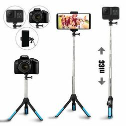 3 In 1 Wireless Bluetooth Selfie Stick Universal Tripod Exte