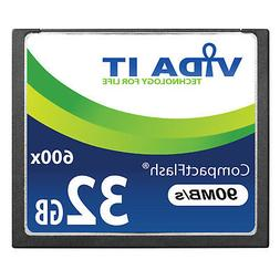 32GB Compact Flash CF Memory Card 90MB/s Support Recording 4