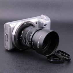 Fujian 35mm f/1.7 CCTV Movie Lens for Sony NEX E Mount Camer