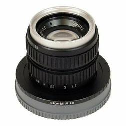 SLR Magic 35mm f/1.7 MC lens for Micro 4/3 #SLR-3517MFT - NE
