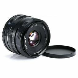 35mm F1.7 Manual Focus Prime Lens for Micro M4/3 Olympus Pan