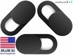 3+1 Pieces Webcam Cover Slim Slider Camera Shield Privacy Pr