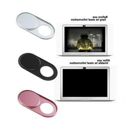 3Pcs Metal WebCam Cover Slide Camera Privacy Security Protec