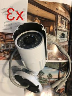 "3sets 1/3"" 420TVL SONY CCD Weatherproof Outdoor CCTV Camera"