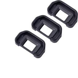 3x Eyecup Eyepiece Eye Cup Viewfinder for Canon EOS 60D 80D