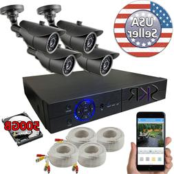 Sikker 4 channel 4MP DVR Home security camera system 1080P H