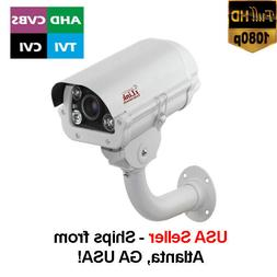4-in-1 HD 1080P Sony Starvis License Plate Camera 2.8-12mm V