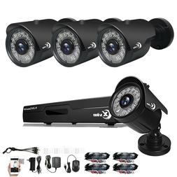 4ch home security system surveillance