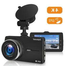TOGUARD 4K UHD 2160P Car Dash Cam GPS DVR Camera Video Recor