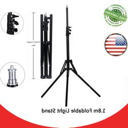 5.9ft Foldable Light Stand Holder Pro Series Universal Camer
