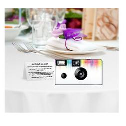 5 pack Electronic Rainbow Disposable Camera, Single Use, wed