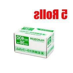 5 Rolls Fuji Fujifilm Industrial 400 Business 400 35mm 36EXP